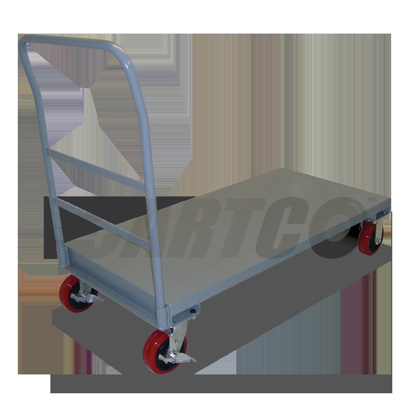 Carro plataforma con ruedas de 6 x2 modelo pb for Carritos con ruedas para cocina